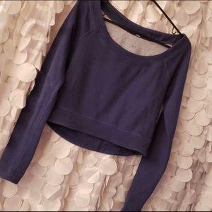 Lululemon crop sweatshirt